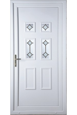 Ashford Diamond Bevel uPVC Door