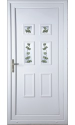 Ashford Rose Vine uPVC Door