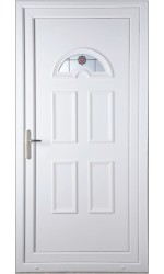 Blackburn Rosette uPVC Door