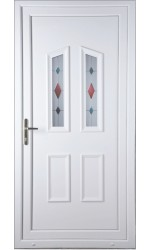 Darlington Coloured Blast uPVC Door