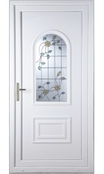 Ellesmere Port Yellow Rose uPVC Door