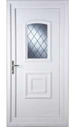 Folkestone Diamond Lead uPVC Door