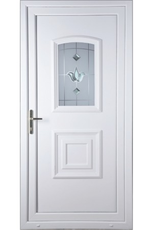 Folkestone Georgian Bevel Blast uPVC Door