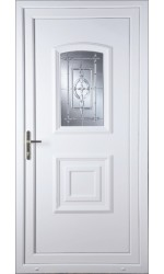 Folkestone New Platinum uPVC Door