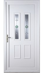 Ilkeston Golf Bevel uPVC Door