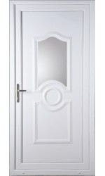 Jacobstow Clear Glazed uPVC Door