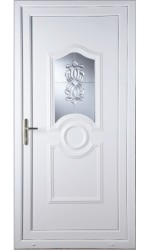 Jacobstow Oxford Crystal uPVC Door