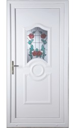 Jacobstow Summer Rose uPVC Door