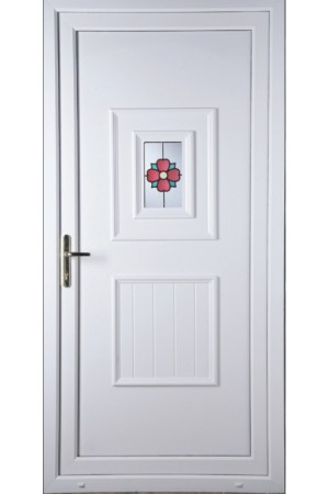 Loughborough Rosette uPVC Door