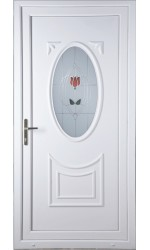 Maidenhead Resin Rose uPVC Door