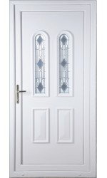 Newport Crystal uPVC Door