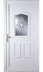 Oakham China Cluster uPVC Door