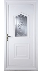 Poole New Connah uPVC Door