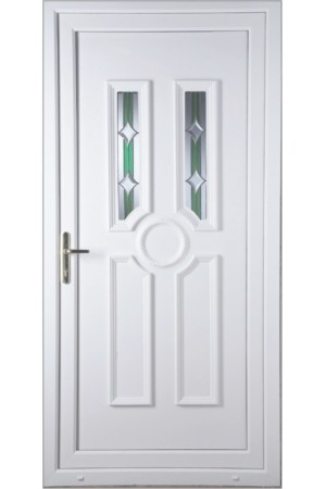 Queensferry Bevel uPVC Door