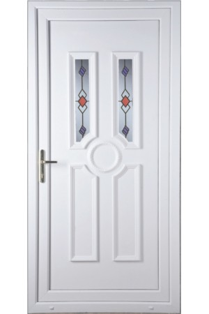 Queensferry Victorian Twist uPVC Door