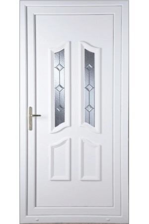 Rotherham Triple Bevel uPVC Door