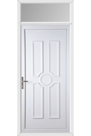 Queensferry Solid uPVC Door with Toplight