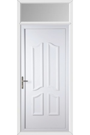 Rotherham Solid uPVC Door with Toplight