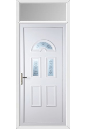 Blackburn Blast uPVC Door with Toplight