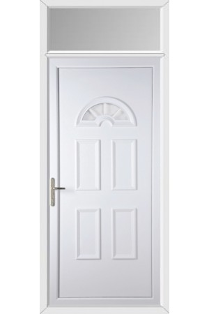 Blackburn Georgian Bar uPVC Door with Toplight