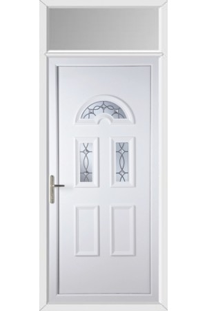 Blackburn Titan Bevel uPVC Door with Toplight