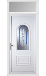 Ellesmere Port New Royal uPVC Door with Toplight