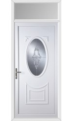 Maidenhead Sapphire uPVC Door with Toplight