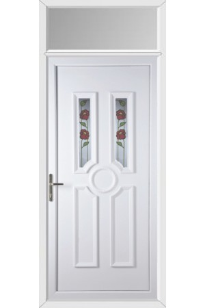 Queensferry Summer uPVC Door with Toplight