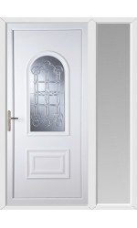 Ellesmere Port Coyle uPVC Door with One Sidelight