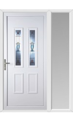Ilkeston Edwardian uPVC Door with One Sidelight