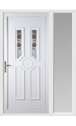 Queensferry Summer uPVC Door with One Sidelight