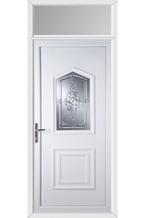 Marco Polo New Connah uPVC Door with Toplight