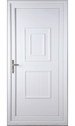 Loughborough Solid uPVC Door