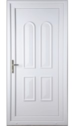 Newport Solid uPVC Door