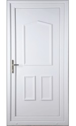 Oakham Solid uPVC Door
