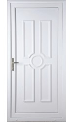 Queensferry Solid uPVC Door