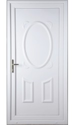Swansea Solid uPVC Door