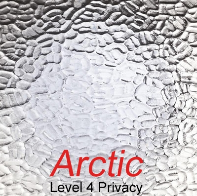 Arctic privacy glass